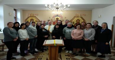 """14-17 листопада проходили реколекції """"Повірити Христові.Євангеліє від Марка"""""""
