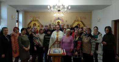 """12 – 15 грудня відбулися реколекції """"Нове творіння у Христі.Молитва 5 ключів"""""""
